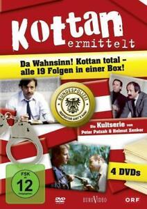 Kottan ermittelt – Alle 19 Folgen in einer Box [4 DVD's/NEU/OVP] Satirische Krim
