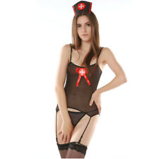 Sexy Naughty Nurse Costume Hen Do Fancy Dress Party Outfit New Women's Ladies UK
