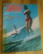 Vintage SURFER Magazine Nov. 1964 LINDA MERRILL 1st Woman COVER Vol. & Number 5
