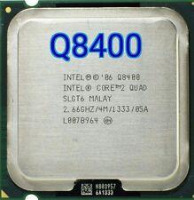 Intel Core 2 Quad Q8400 CPU Procesador (2.66 Ghz, 4 M, 1333 GHz)