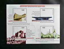 TIMBRES D'ALLEMAGNE : 1997 RFA BLOC FEUILLET N° 36** ARCHITECTURE APRES 1945 TBE