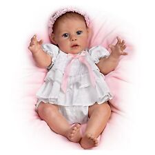 Ashton Drake - HUGS FROM HAILEY touch-activated baby doll by Jannie Delange