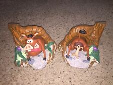 Walt Disney's Lion King Timon and Pumbaa Vintage Bookends Statue Set