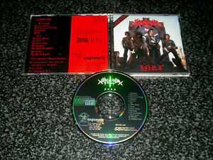 SARCOFAGO - INRI CD ultrarare 1st brazilian Cogumelo press 1992 red E.;Blasphemy
