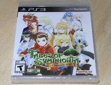 Tales Of Symphonia Playstation 3 PS3 New Factory Sealed