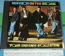 NEW KIDS ON THE BLOCK - TOUR SOUVENIR COLLECTION -16 TRACK CD- COLUMBIA 469282 2