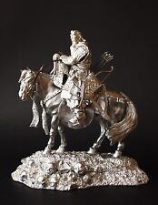 Genghiz Khan, XIII c. KIT Tin toy soldier 90 mm. metal