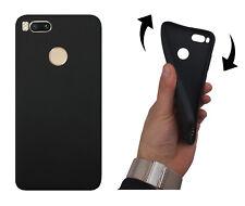 Per Xiaomi mi A1/mi 5x Custodia Cellulare Nero Scocca Posteriore Case Protezione