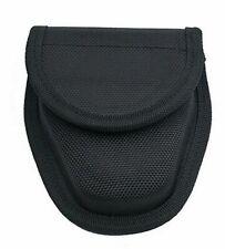 HANDCUFF SHEATH   Standard Size Black Hard Boxed Nylon Hook/Loop Hand Cuff Case