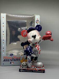 2010 DISNEY MLB National League All Star Mickey Mouse Figurine Statue RARE