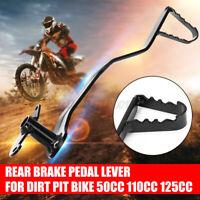 Rear Hydraulic Foot Disc Brake Pedal Lever Spring Pit Dirt Bike 50cc Motorbike