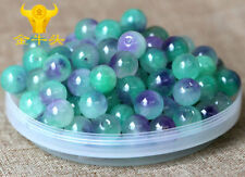 10p Natural Jade Stone Gemstone Round Spacer Loose Beads DIY 8mm B6