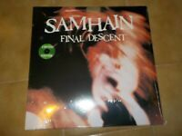 Samhain  ‎- Final Descent ULTRA RARE ,Green Lp,Misfits,Metallica