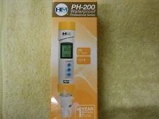 NEW HMD PH 200 Digital Professional Waterproof 0 14 PH & Temperature Meter
