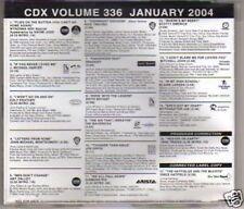(H717) CDX Volume 336 January 2004 - DJ CD