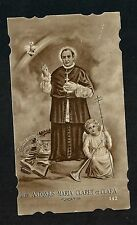 Estampa antigua de San Antonio MªClaret andachtsbild santino holy card santini