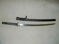 "Unsharpened Carbon Steel Iaito Practice Sword Katana 41"" full tang high quality"