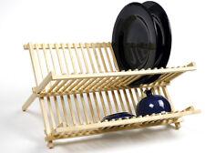 NORPRO 361 Wood Folding Dish Drying Rack