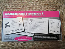 Japanese Kanji Flashcards 1: Prep for Levels 4 and 3 of the Japanese Language Pr