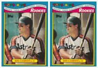 (2) 1988 Topps Toys R' Us Rookies Baseball 6 Ken Caminiti Lot Houston Astros