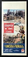 CINEMA-locandina I LANCIERI DEL BENGALA gary cooper, cromwell, HATHAWAY