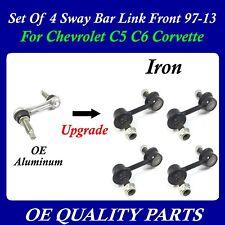 Set of 4pcs Upgrade Sway Bar Link Front & Rear 97-13 for Corvette C5 C6 20822934