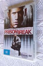 PRISON BREAK - SEASON ONE (DVD+ 6-DISC) R-4, LIKE NEW, FREE POST IN AUSTRALIA