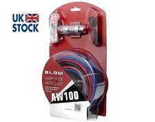 """Kit De Cables De Amplificador """"golpe"""" AW100 coche amplificador Kit de 60A RCA Audio Fusible Agu"""