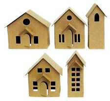 Sizzix Thinlits Paper Village 16Pc set #664741 Retail $19.99 by Tim Holtz