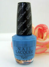 Opi Nail Polish Lacquer No Room For The Blues .5 oz Magritte Sky Ocean Blue New