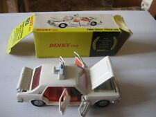DINKY 255 POLICE ZODIAC ORIGINAL DINKY TOY EXCELLENT FOR AGE IN ORIGINAL BOX