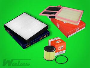 Juego de Filtros Set Kit VW Polo 9N 1,6 16V Seat Aire Aceite- Polen