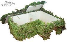 """Mehrkammernhaus """"Moos"""", 28x22x10 cm für Hamster und Co."""