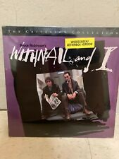 WITHNAIL AND I LASERDISC-CriterionCollection Paul McGann Richard Grant Brand New