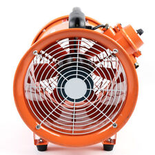 Atex 12'' Explosion Proof Rated Ventilator Axial Fan Extractor 3720m³/H Us Stock