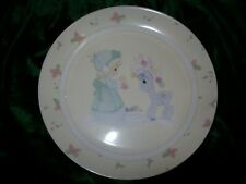 Porcelain Collector Plate Precious Moments Christmas 2006 .Edr