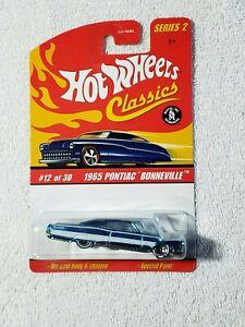 HOT WHEELS SERIES 2 CLASSICS 1965 PONTIAC BONNEVILLE