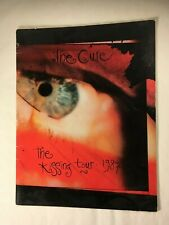 The Cure 1987 The Kissing Tour Program Book Kiss Me Kiss Me Kiss Me Robert Smith