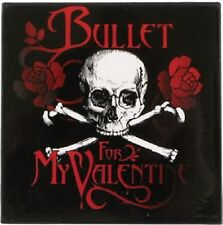 BULLET FOR MY VALENTINE Skull N Bones Fridge Magnet Rock Official Merchandise