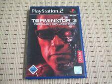 Terminator 3 Rebellion der Maschinen für Playstation 2 PS2 PS 2 *OVP*