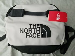 The North Face Medium Base Camp Duffel and Backpack - TNF White/Grey Color