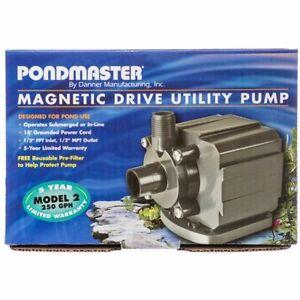 Pondmaster Pond-Mag Magnetic Drive Utility Pond Pump