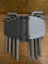 Husky SAE/Metric Long Arm Hex Key Set 25 - Piece