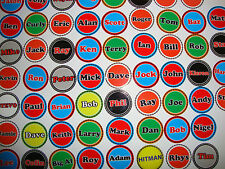 """Lucy  12 LAWN BOWLS STICKERS 1/""""  NEW CROWN GREEN BOWLS FLAT GREEN  BOWLS"""