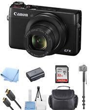 Canon PowerShot G7 X Digital Camera With 20.2MP ! NEW SELFIE BUNDLE