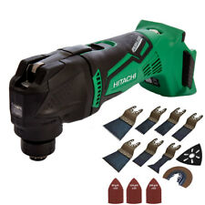Hitachi & HiKOKI CV18DBL/W4 18V Brushless Multi Tool With 39pcs Accessories Set