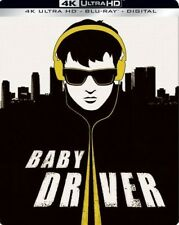 Baby Driver - Limited Edition Steelbook (Blu-ray + 4K UHD) BRAND NEW!!