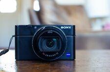 Sony DSC-RX100 Mark VI Mark 6 20.1 MP Digital Camera, 24-200 Zeiss Lens - READ!
