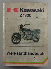 Manuel D'Atelier Kawasaki Z 1300 De 02/1979