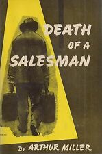 "ARTHUR MILLER ""Death of a Salesman"" SIGNED First Printing in EXCELLENT Condition"